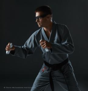 Karate portrait by David McCammon