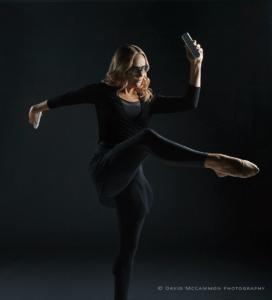 Dancer portrait by David McCammon