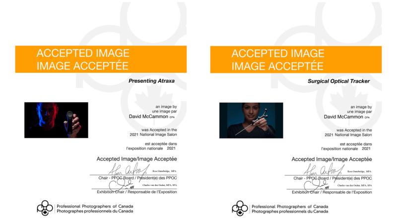 2021 National Image Salon Professional Photographers of Canada